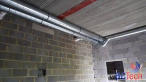 Gainage système de ventilation