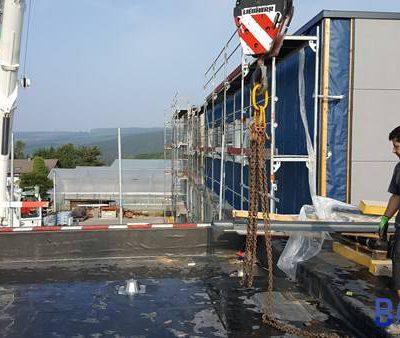 Installation ventilation école de Francorchamps