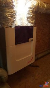 Système de ventilation double flux Zehnder à Walhain