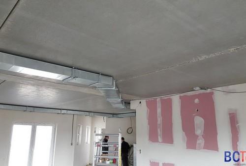 Gainage ventilation double flux pour l'UCM à Libramont