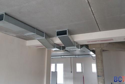 Système de ventilation double flux pour l'UCM à Libramont