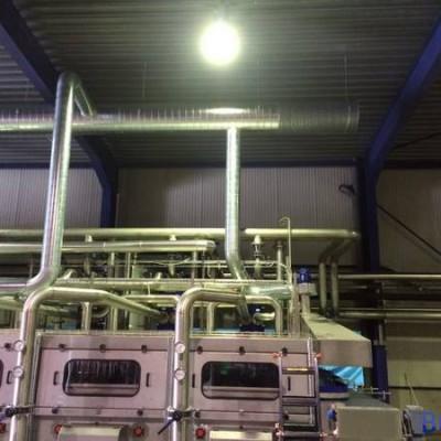 Ventilation - Gainage rejet d'air chez Villers Monopole (Ice Tea)