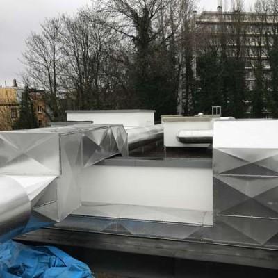 Ventilation à Uccle (Bruxelles) - BC Tech x Projet Schlumberger