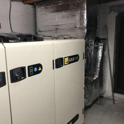 VMC - Ventilation BC Tech / Projet Schlumberger à Bruxelles