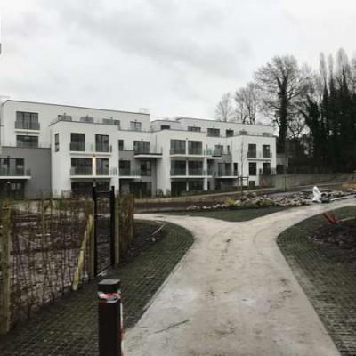 Chantier de ventilation BC Tech à Uccle (Bruxelles) - Projet Schlumberger