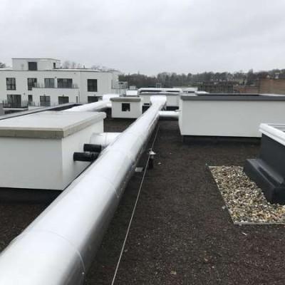 Projet Schlumberger / Chantier BC Tech - Installation d'un système de ventilation à Uccle (Bruxelles)