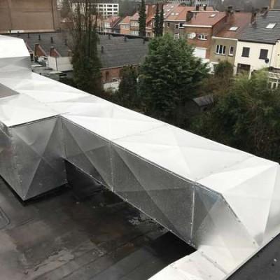 Projet Schlumberger - Installation d'un système de ventilation à Uccle (Bruxelles)