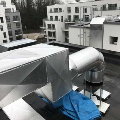 Projet Schlumberger - Système de ventilation à Uccle (Bruxelles)