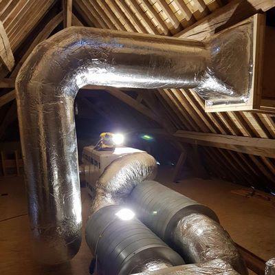 VMC double flux installée par BC Tech à Éghezée (Namur)