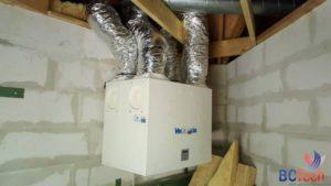 Système de ventilation Vent Axia au Monde Sauvage d'Aywaille