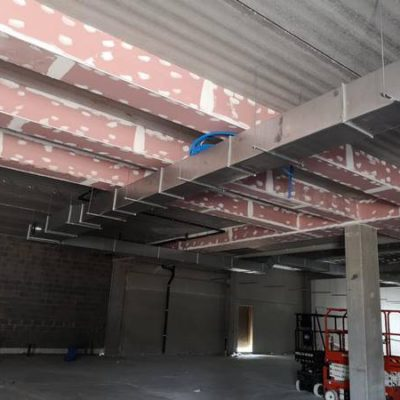 BC Tech - Système de ventilation pour un Delhaize à Namur