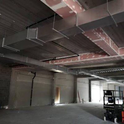Réalisation de l'installation d'un système de ventilation à Namur par BC Tech