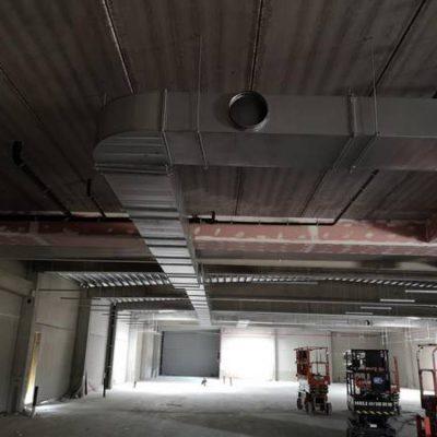 Gaines de ventilation - Delhaize de Rhisnes à Namur