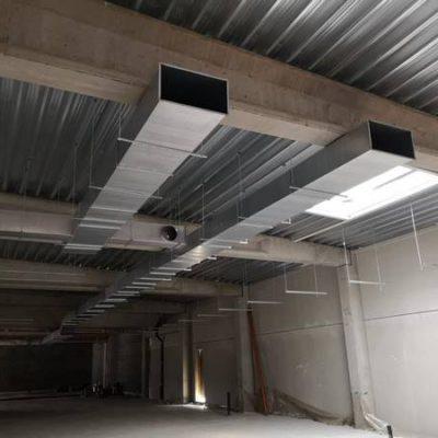 BC Tech x Delhaize de Rhisnes (Namur) - Système de ventilation