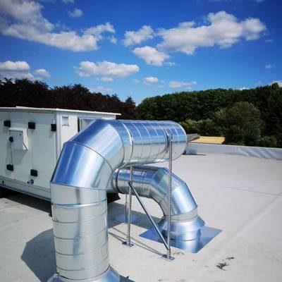 Installation d'un système de ventilation à Namur par BC Tech