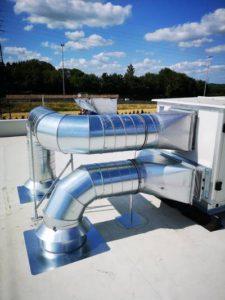 Système de ventilation - Installation BC Tech à Namur