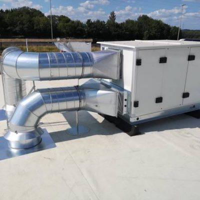 Delhaize de Rhisnes, à Namur - Installation d'un système de ventilation