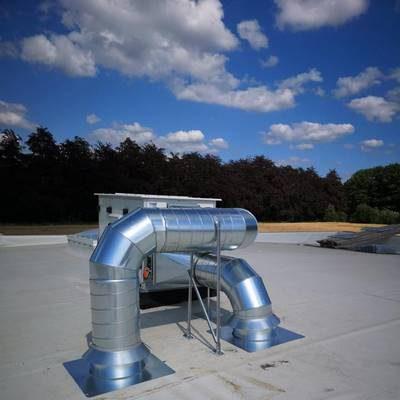 Namur - Système de ventilation, réalisation BC Tech