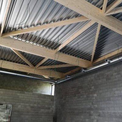 Ventilation à Liège - Salle de gym de Vaux-sous-Chèvremont