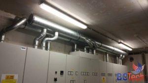 Système de ventilation à Namur
