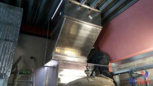 Ventilation - Gainage de prise et rejet d'air à Saint Georges
